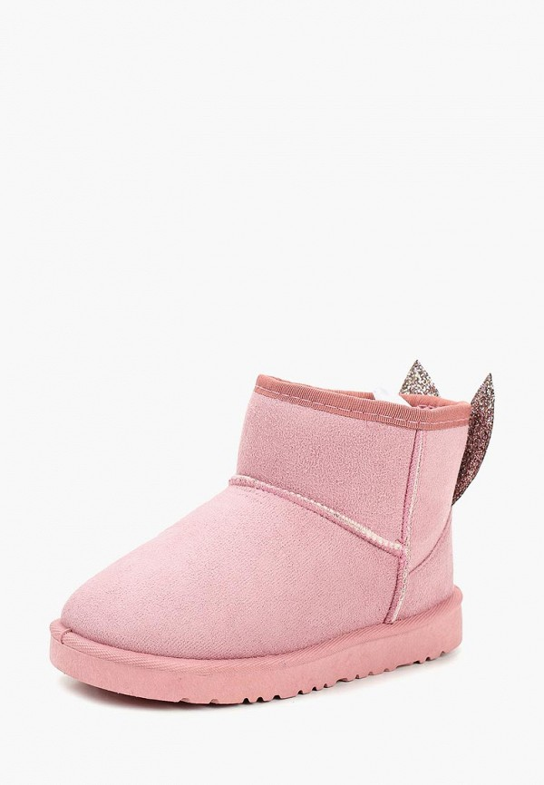 полусапожки modis для девочки, розовые