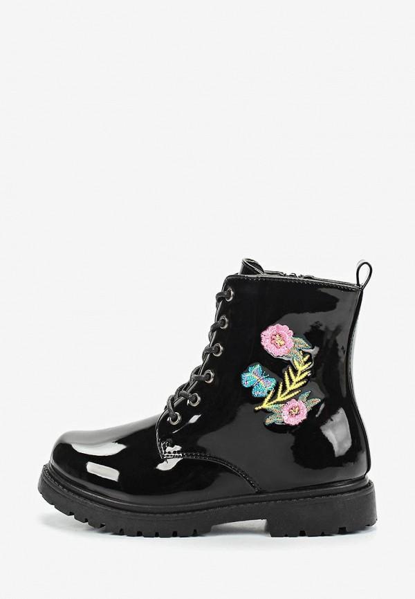ботинки modis для девочки, черные