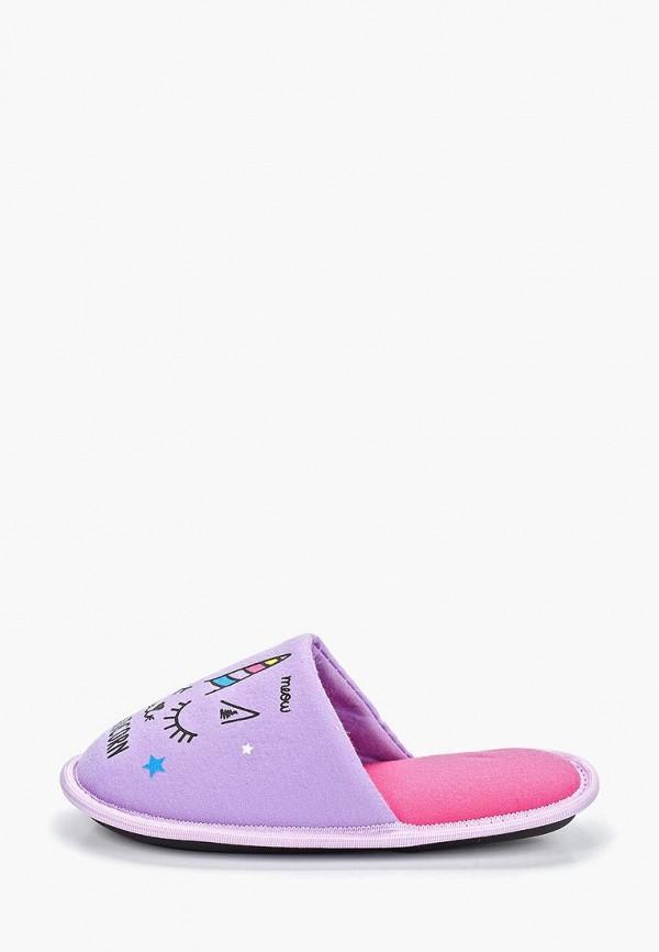 тапочки modis для девочки, фиолетовые