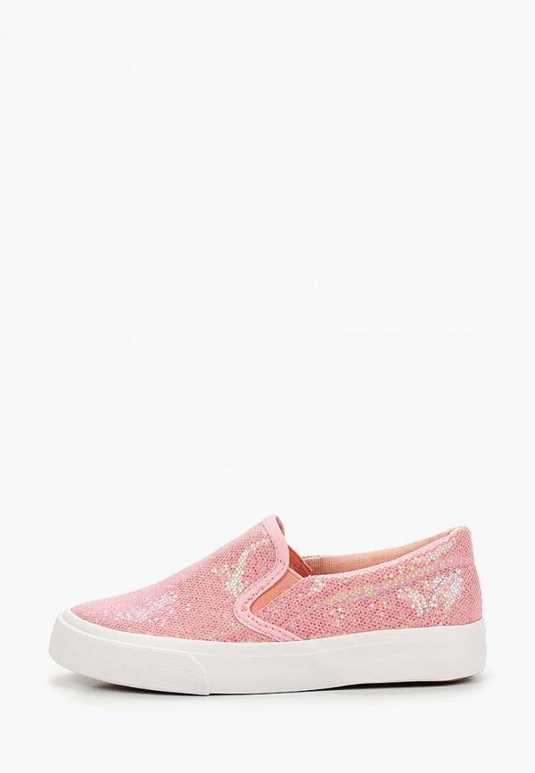 слипоны modis для девочки, розовые