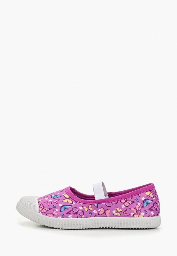 балетки modis для девочки, фиолетовые
