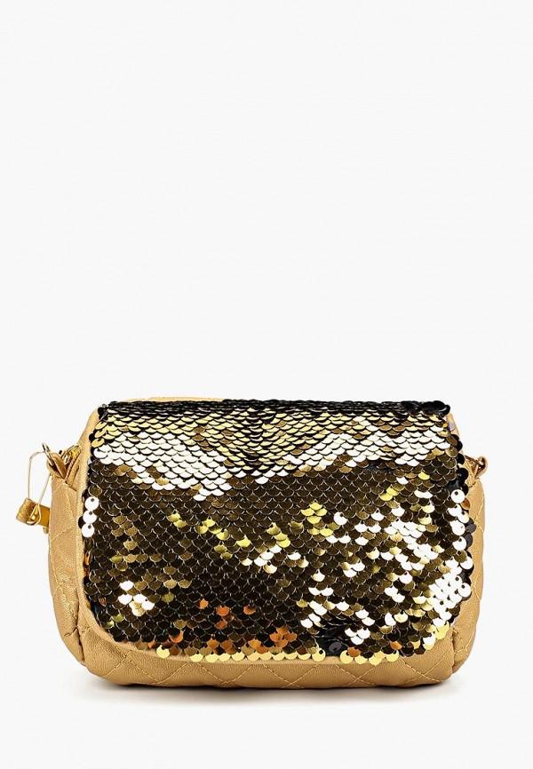 сумка modis для девочки, золотая