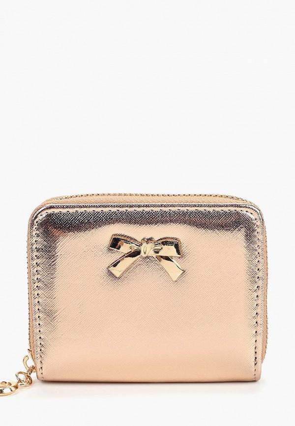 женский кошелёк modis, золотой