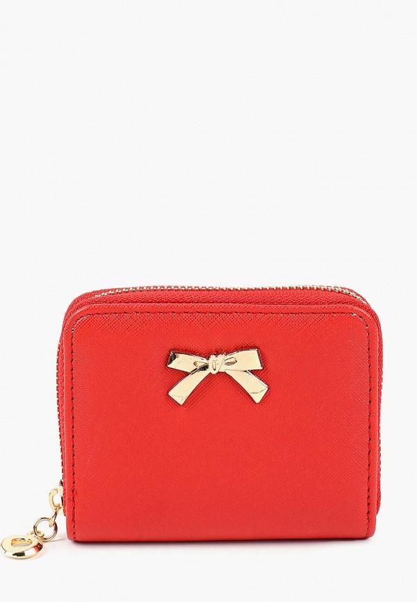 женский кошелёк modis, красный