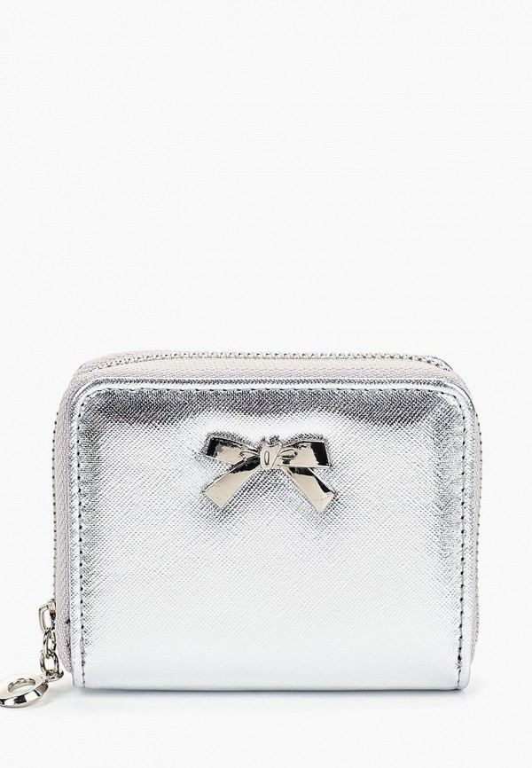 женский кошелёк modis, серебряный