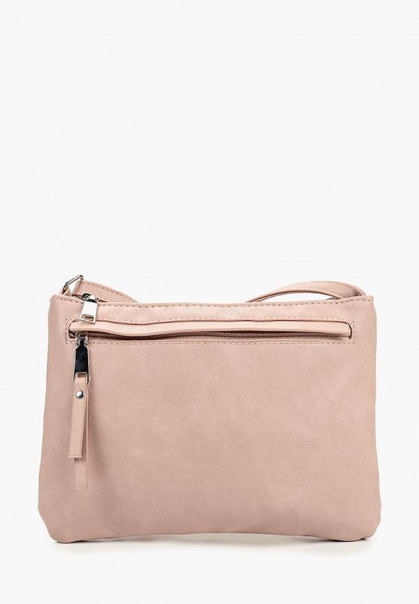 женская сумка modis, розовая