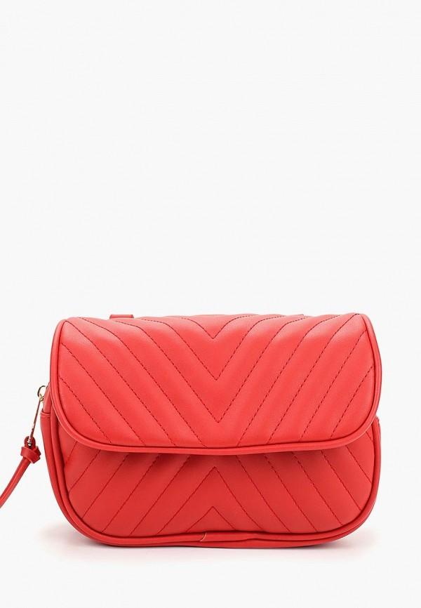 женская сумка modis, красная