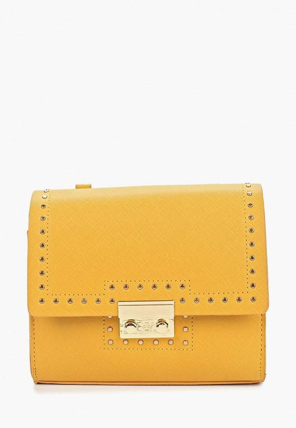 женская сумка modis, желтая