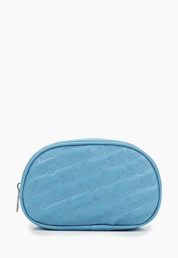 женская сумка modis, голубая