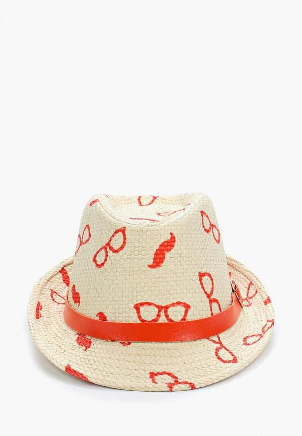 шляпа modis для мальчика, бежевая
