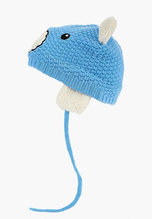 шапка modis для мальчика, голубая