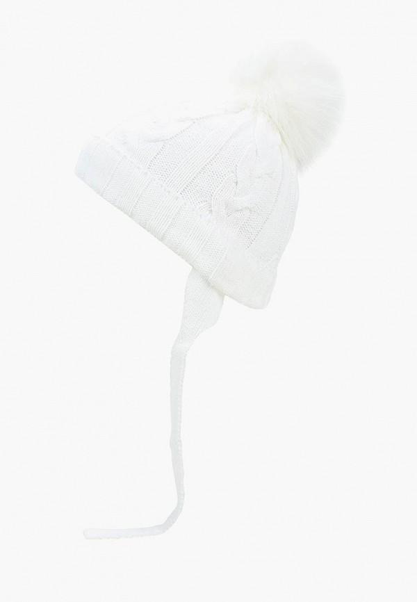 шапка modis для мальчика, белая