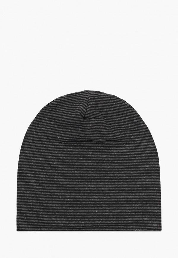шапка modis для мальчика, черная