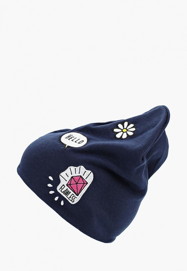 шапка modis для девочки, синяя