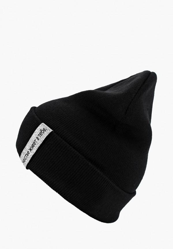 шапка modis для девочки, черная