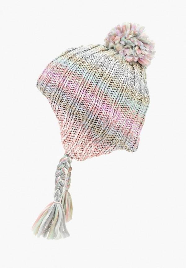 шапка modis для девочки, разноцветная