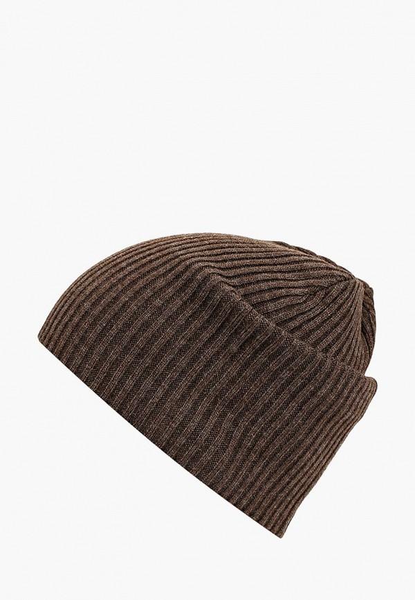мужская шапка modis, коричневая