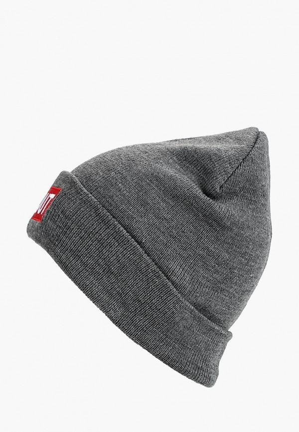 мужская шапка modis, серая