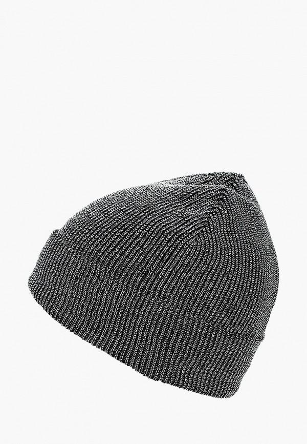 женская шапка modis, серебряная