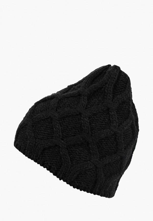 женская шапка modis, черная
