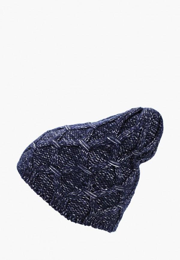 женская шапка modis, синяя