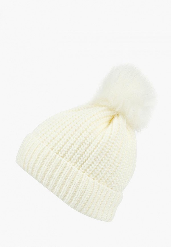 женская шапка modis, белая