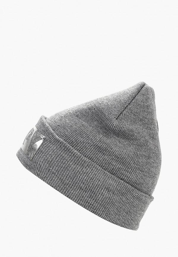 женская шапка modis, серая