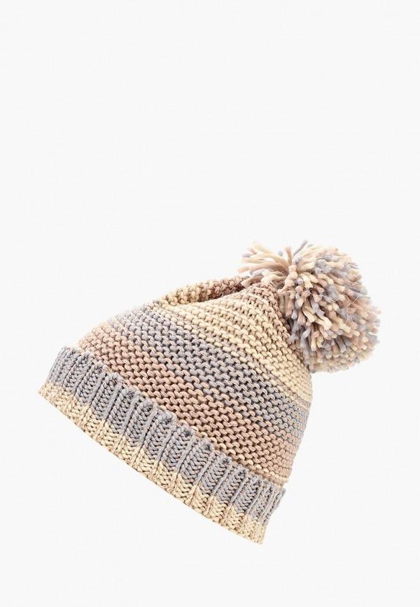 женская шапка modis, бежевая