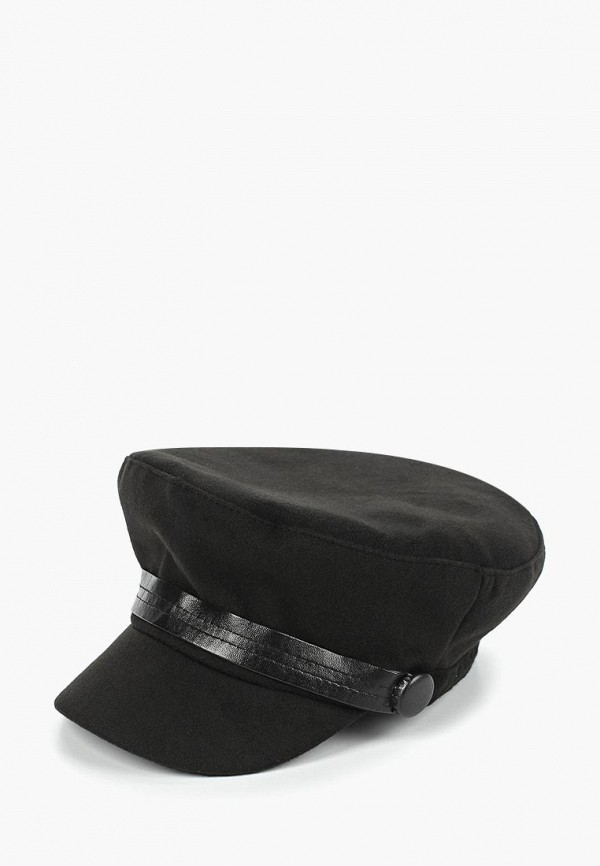 женская кепка modis, черная