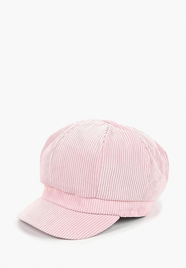 женская кепка modis, розовая