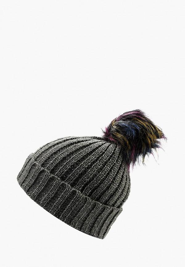 Купить Шапка Modis, MO044CWXLI36, серый, Осень-зима 2017/2018