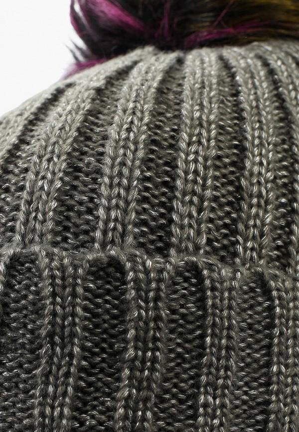 Фото 4 - женскую шапку Modis серого цвета