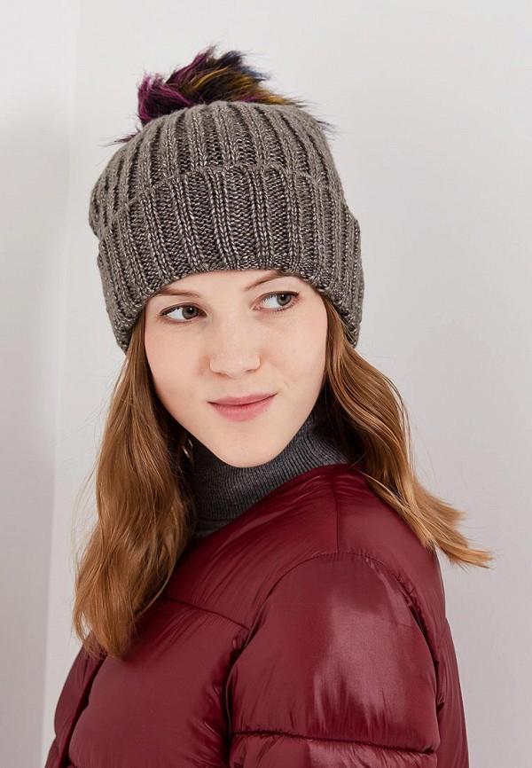 Фото 5 - женскую шапку Modis серого цвета