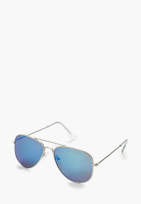 солнцезащитные очки modis для девочки, серебряные