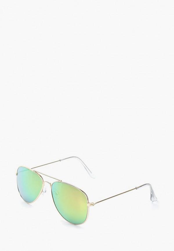 солнцезащитные очки modis для девочки, золотые