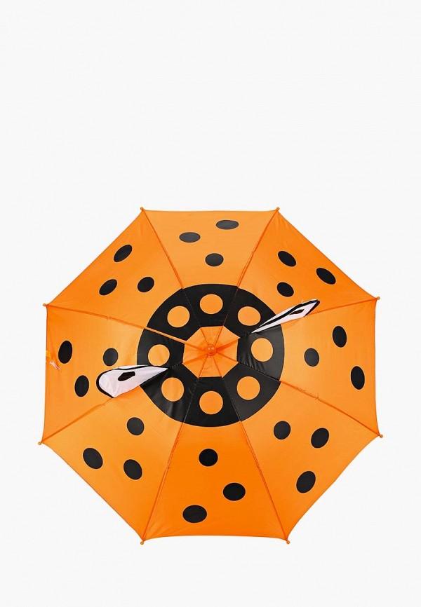 зонт modis для девочки, оранжевый