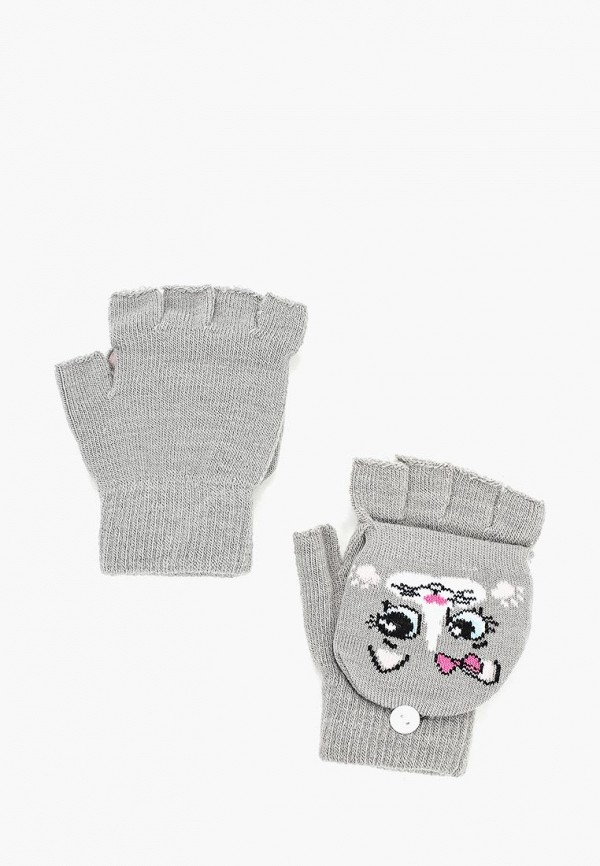 перчатки modis для девочки, серые
