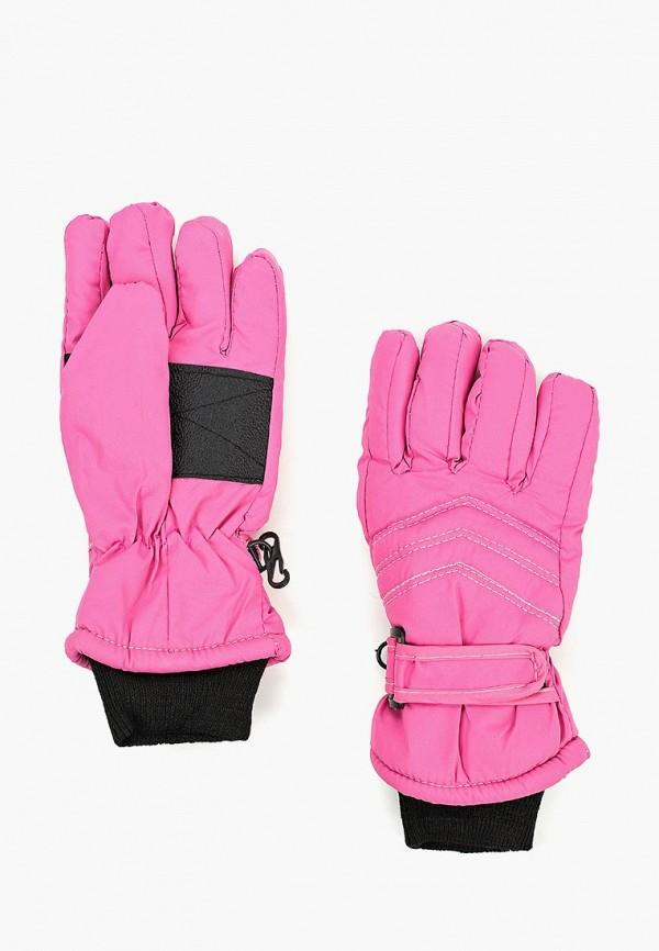 перчатки modis для девочки, розовые