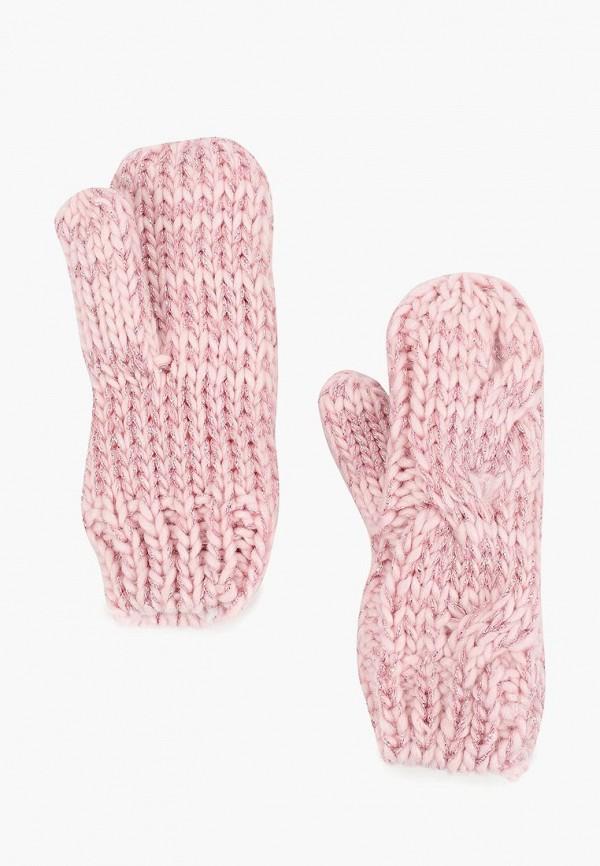 варежки modis для девочки, розовые