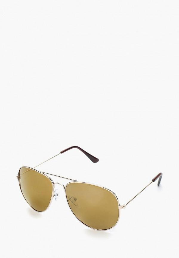 женские солнцезащитные очки modis, золотые
