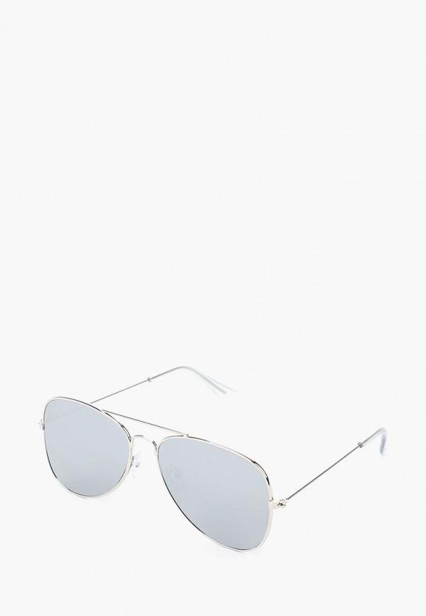 женские солнцезащитные очки modis, серебряные