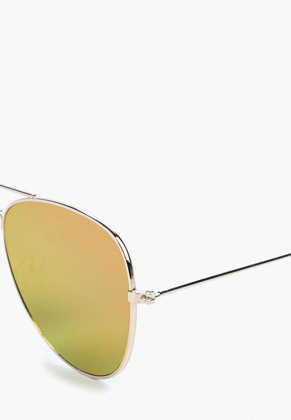Фото 2 - Очки солнцезащитные Modis золотого цвета