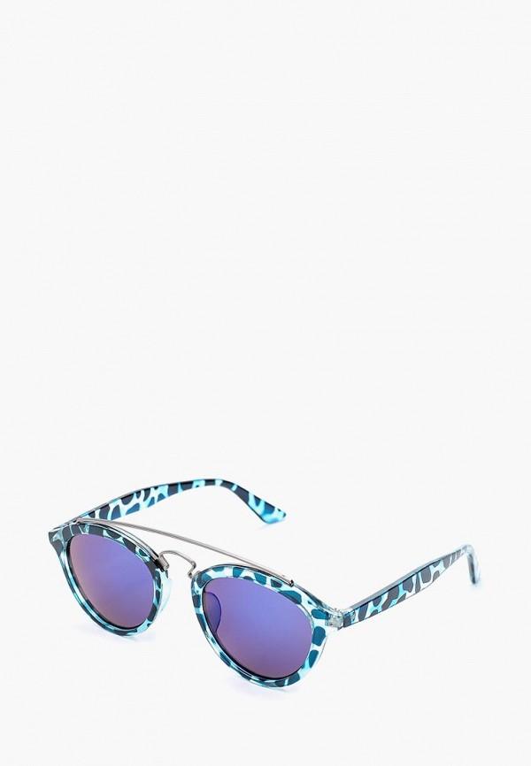 женские солнцезащитные очки modis, бирюзовые