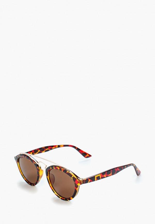 женские солнцезащитные очки modis, коричневые