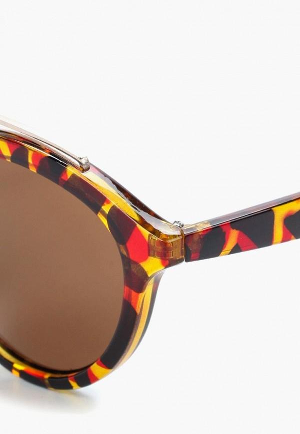 Фото 2 - Очки солнцезащитные Modis коричневого цвета