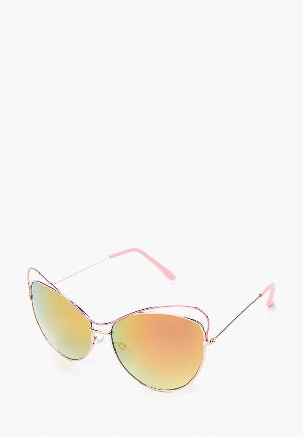 женские солнцезащитные очки modis, розовые