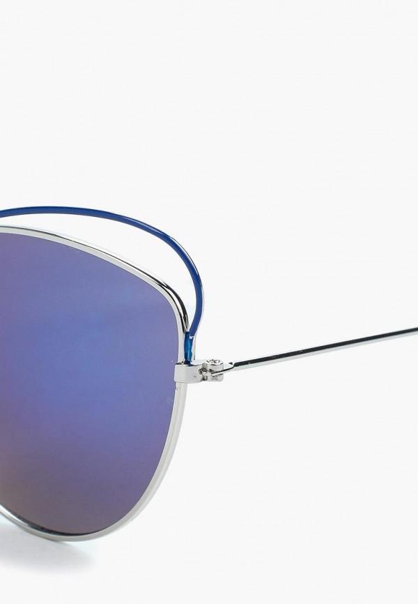 Фото 2 - Очки солнцезащитные Modis серебрянного цвета