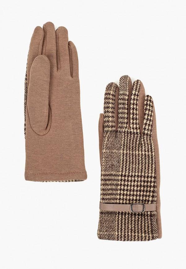 Купить Перчатки Modis, mo044dwcpga6, коричневый, Осень-зима 2018/2019