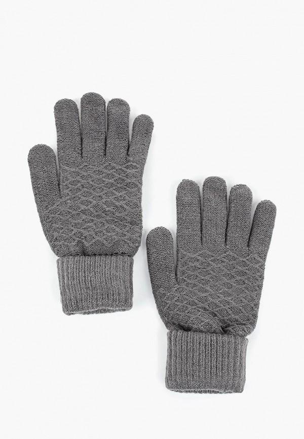 Купить Перчатки Modis, mo044dwcpgb1, серый, Осень-зима 2018/2019