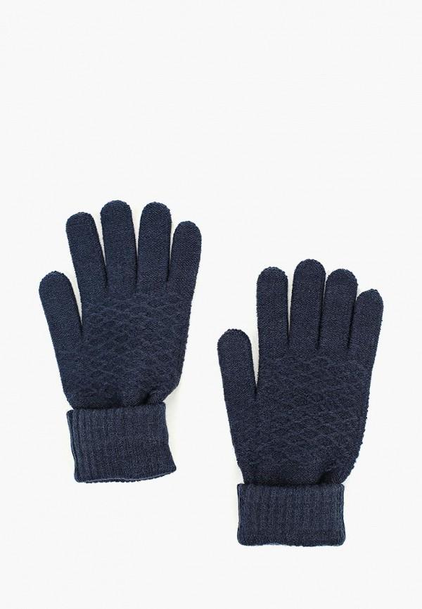 Купить Перчатки Modis, mo044dwcpgb2, синий, Осень-зима 2018/2019